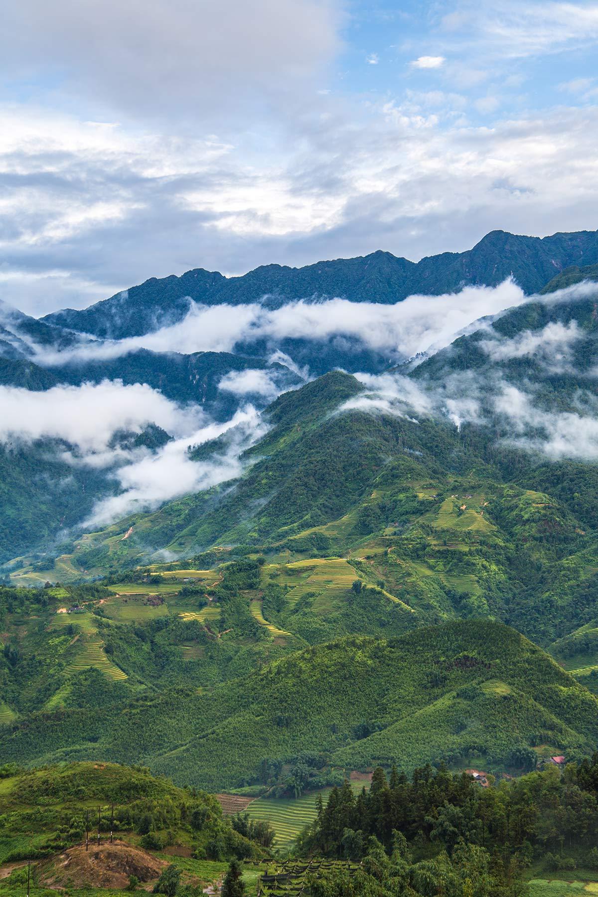 Hochland in Sapa Vietnam