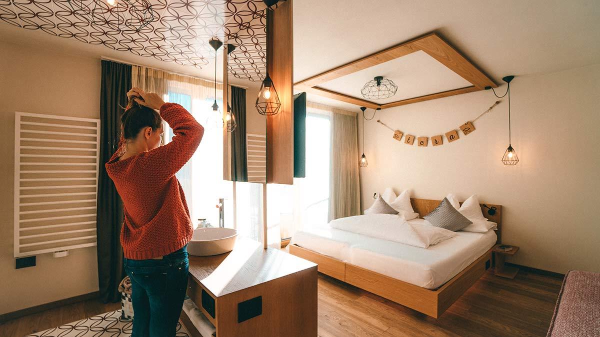 Hotel Tofana Zimmer Alta Badia