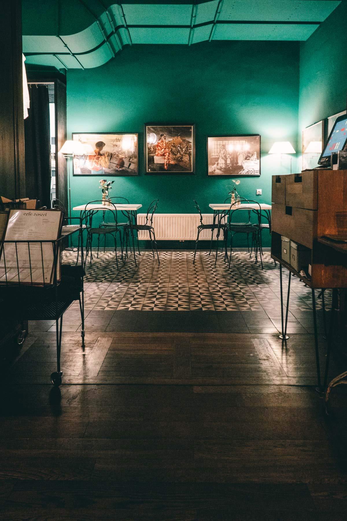 Interior Cafe Ansari