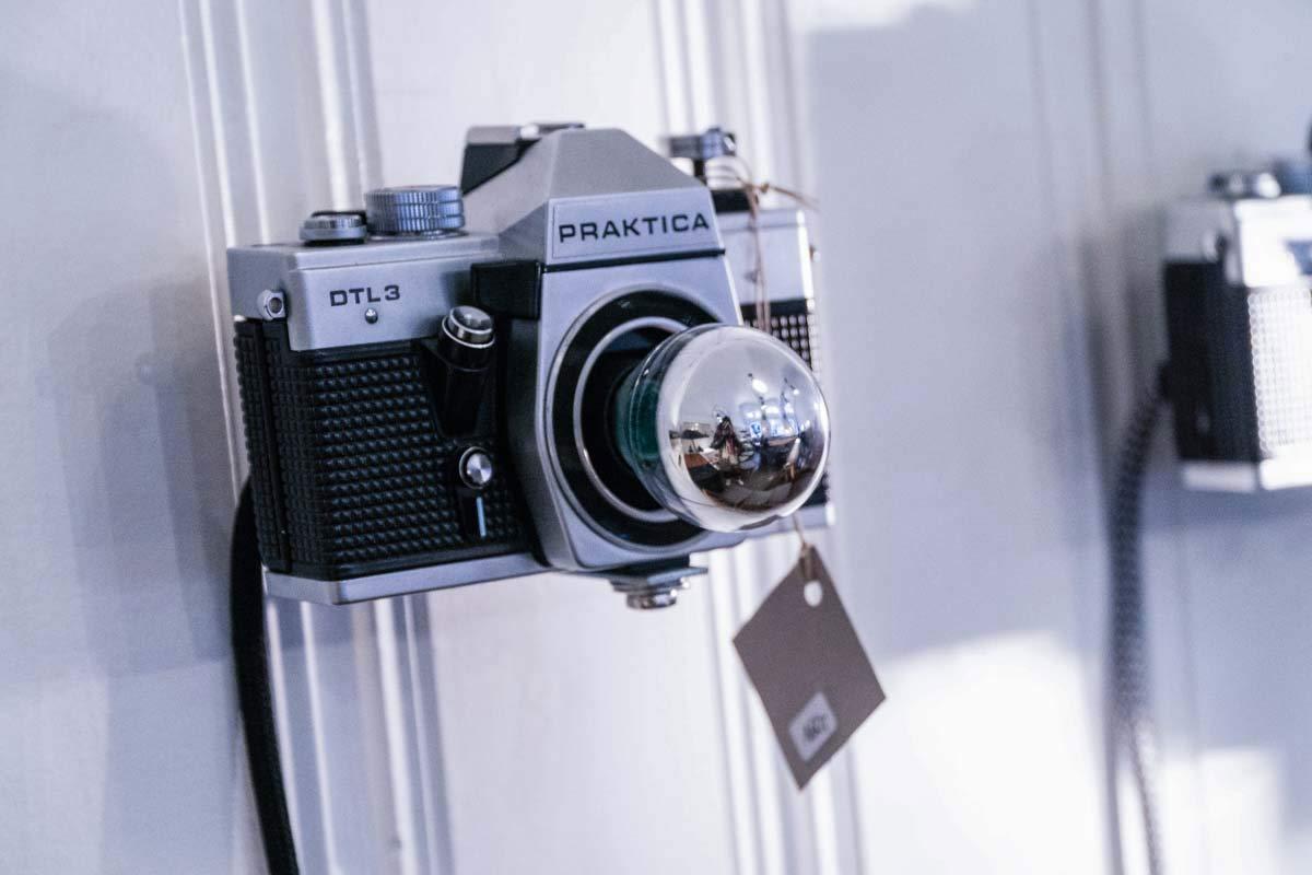 Kellerwerk Upcyclingdesign Kamera