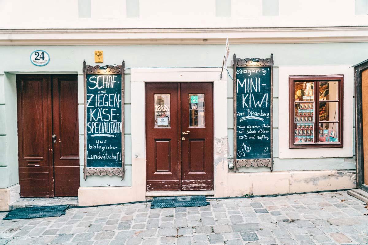 Laeden in Wien