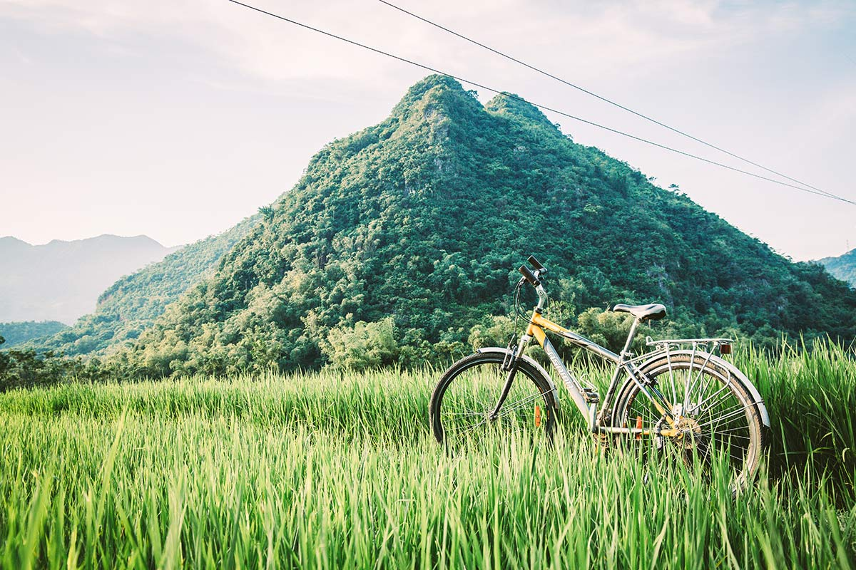 Radtour durchs Mai Chau Tal Vietnam