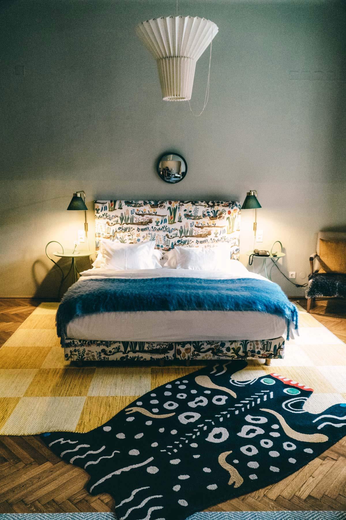 Schlafzimmer im Altstadt Vienna