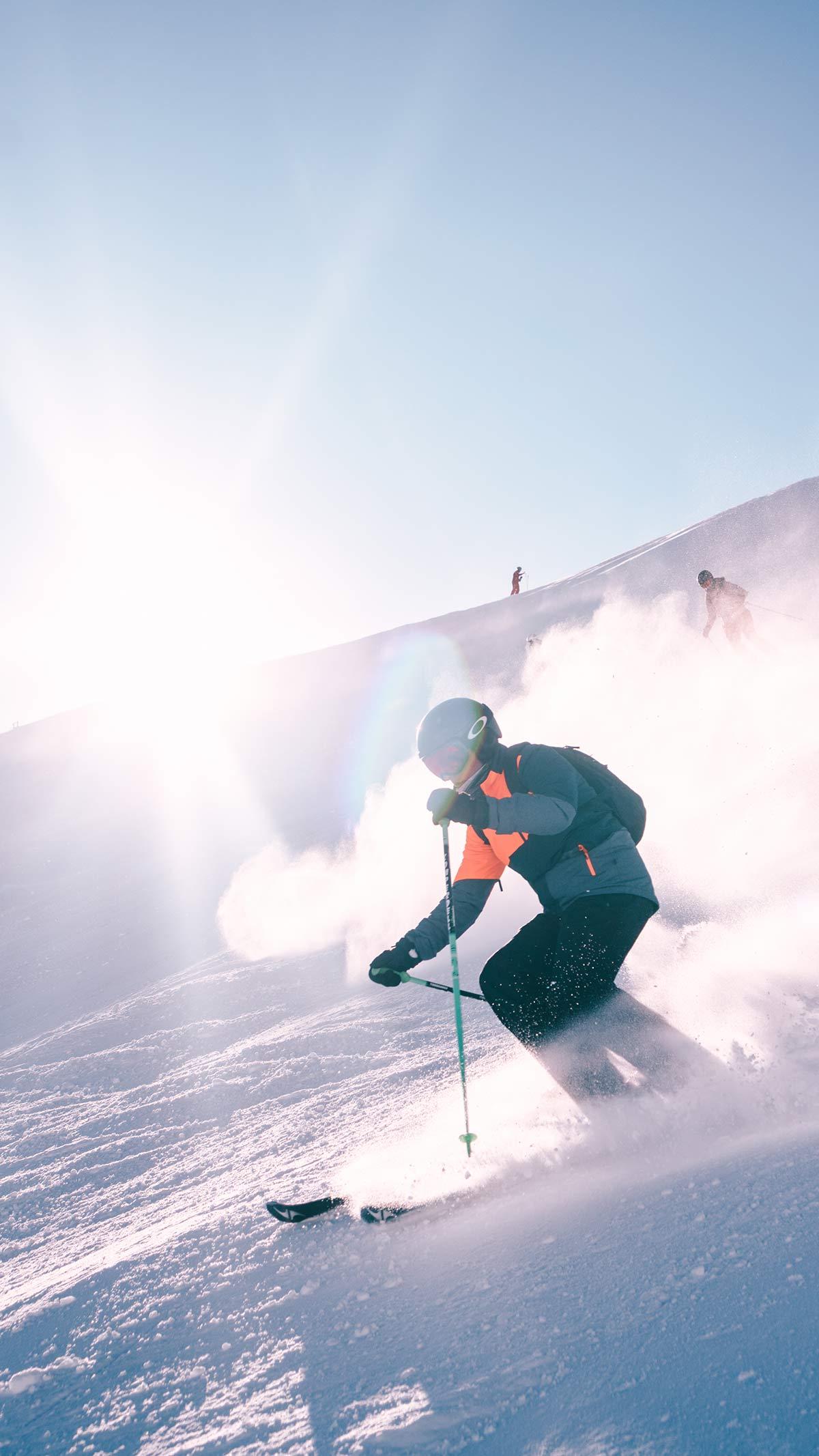 Serfaus Fiss Ladis Skifahrer