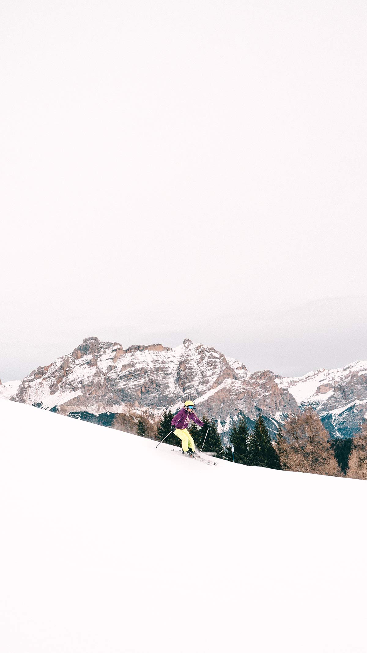 Skigebiet Alta Badia Skifahren