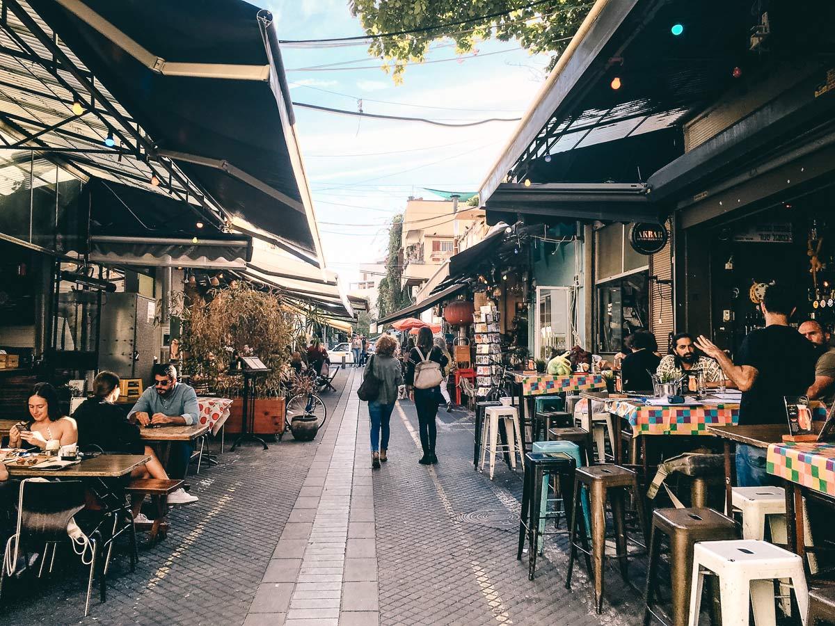Spaziergang durch Tel Aviv