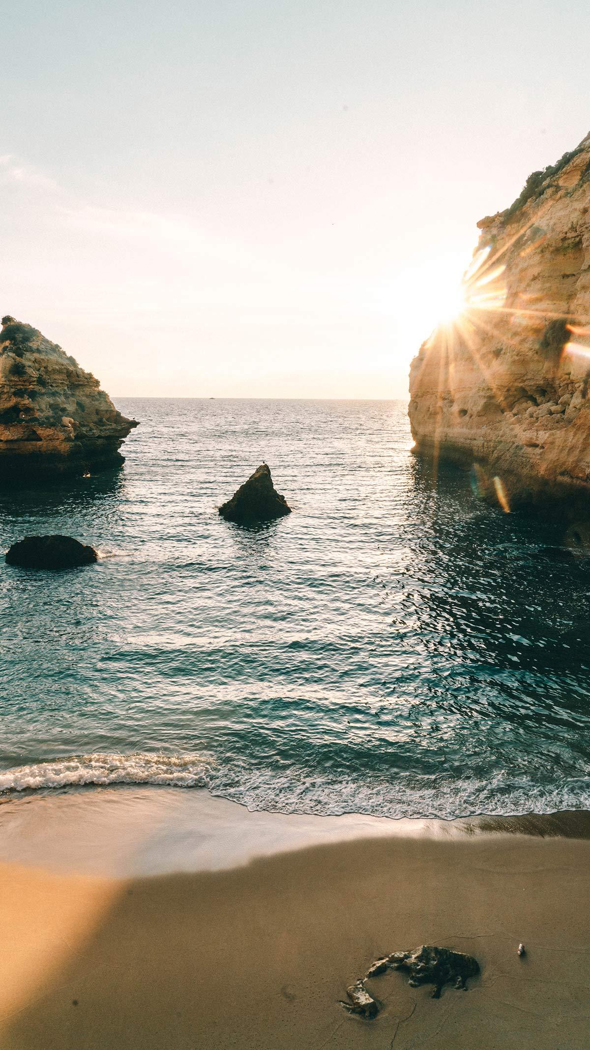Algarve in Portugal Strand