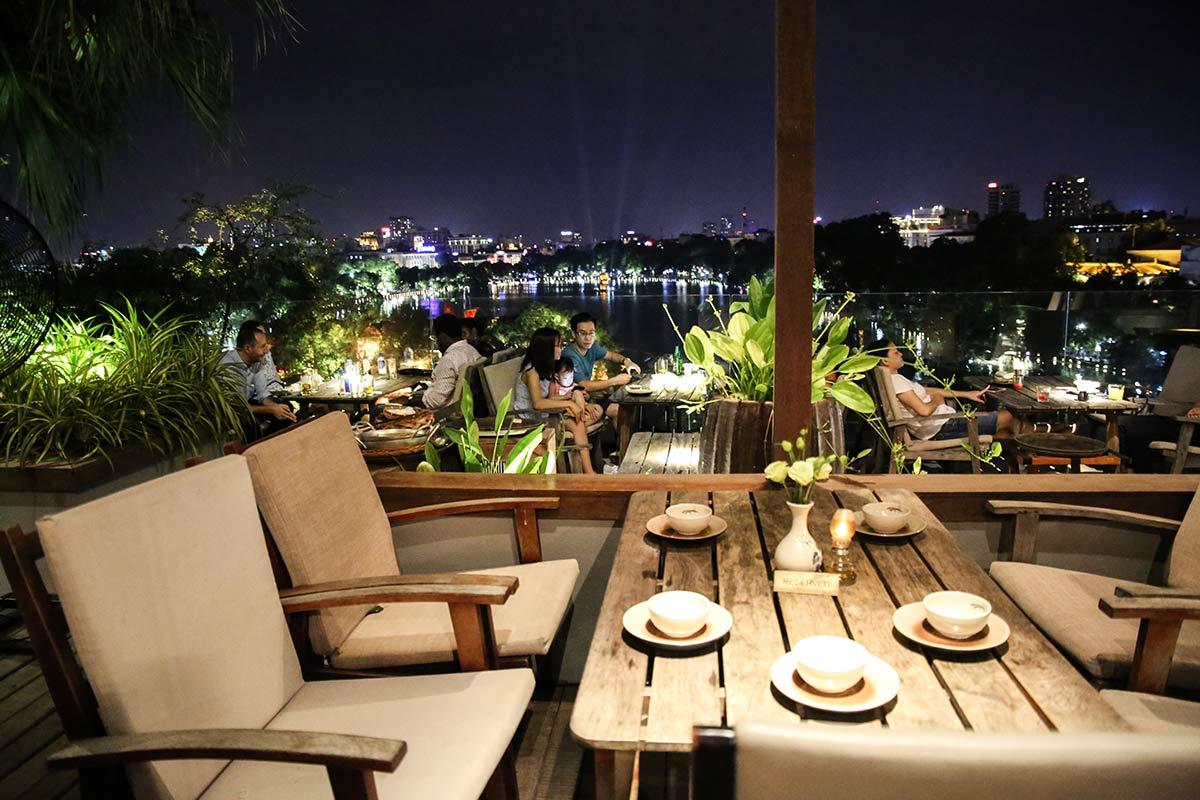 Terasse Cau Go Restaurant Hanoi