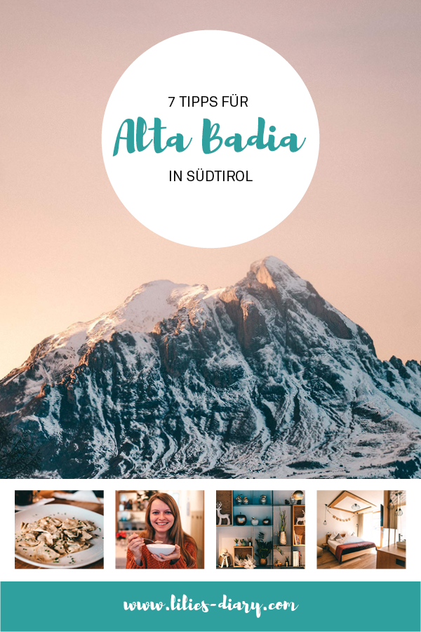 Tipps fuer Alta Badia