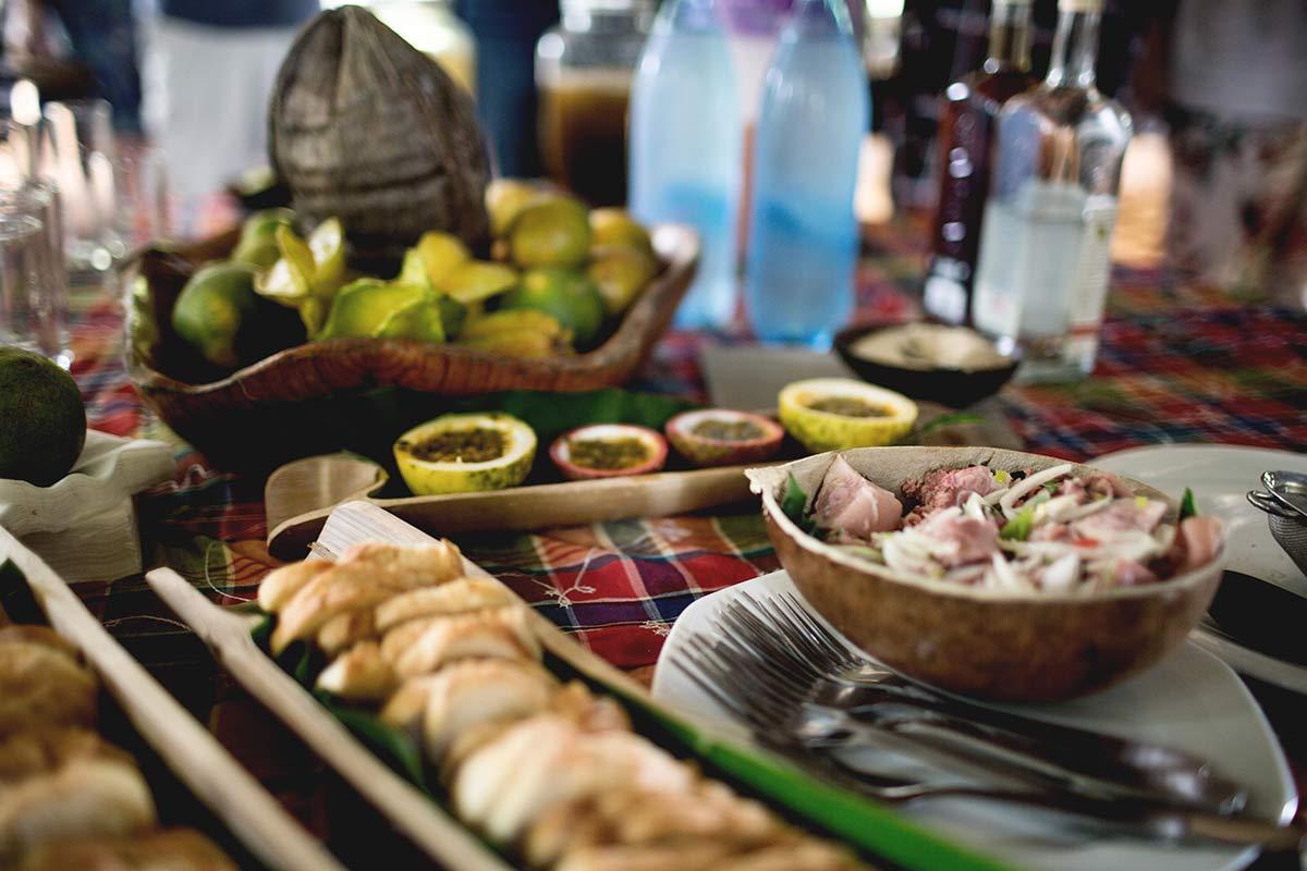 Traditionelle Tapas Martinique