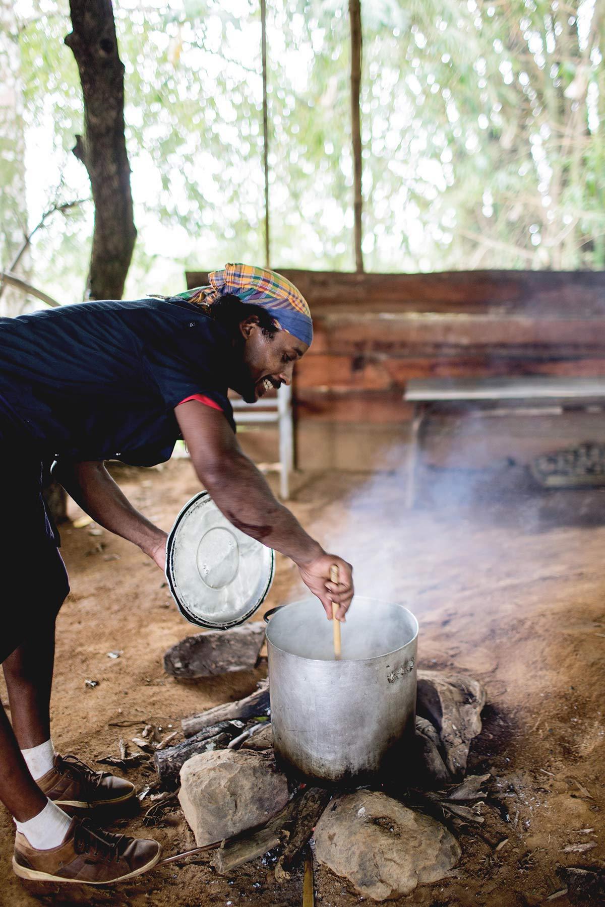 Traditioneller Kochkurs Lakau A Martinique