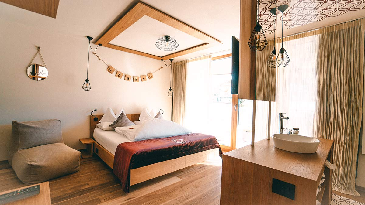 Zimmer im Hotel Tofana Alta Badia