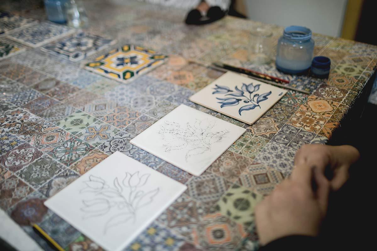 Airbnb Experience Fliesen Workshop