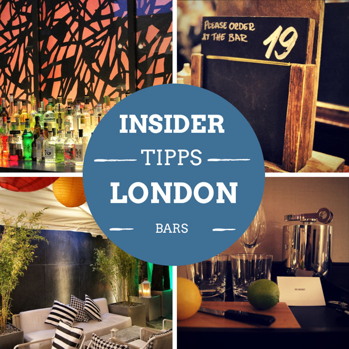 Bars in London