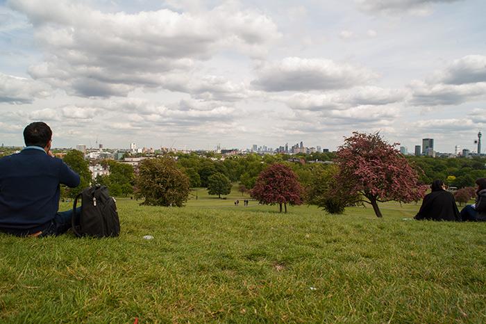 Blick vom Primrose Hill