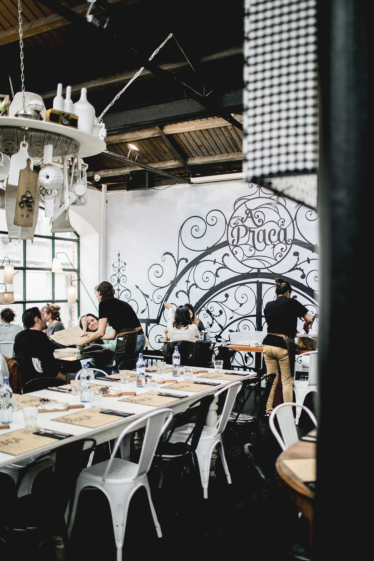 Cafe in Lissabon Praca