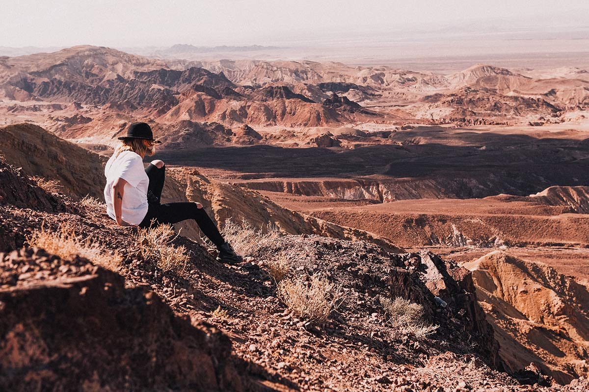 Fahrt nach Petra Berge COPYRIGHT Marc Vorsatz