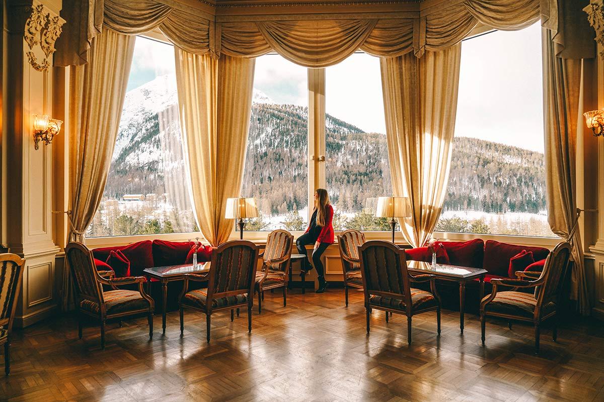 Grand Hotel Kronenhof Lobby Christine Neder
