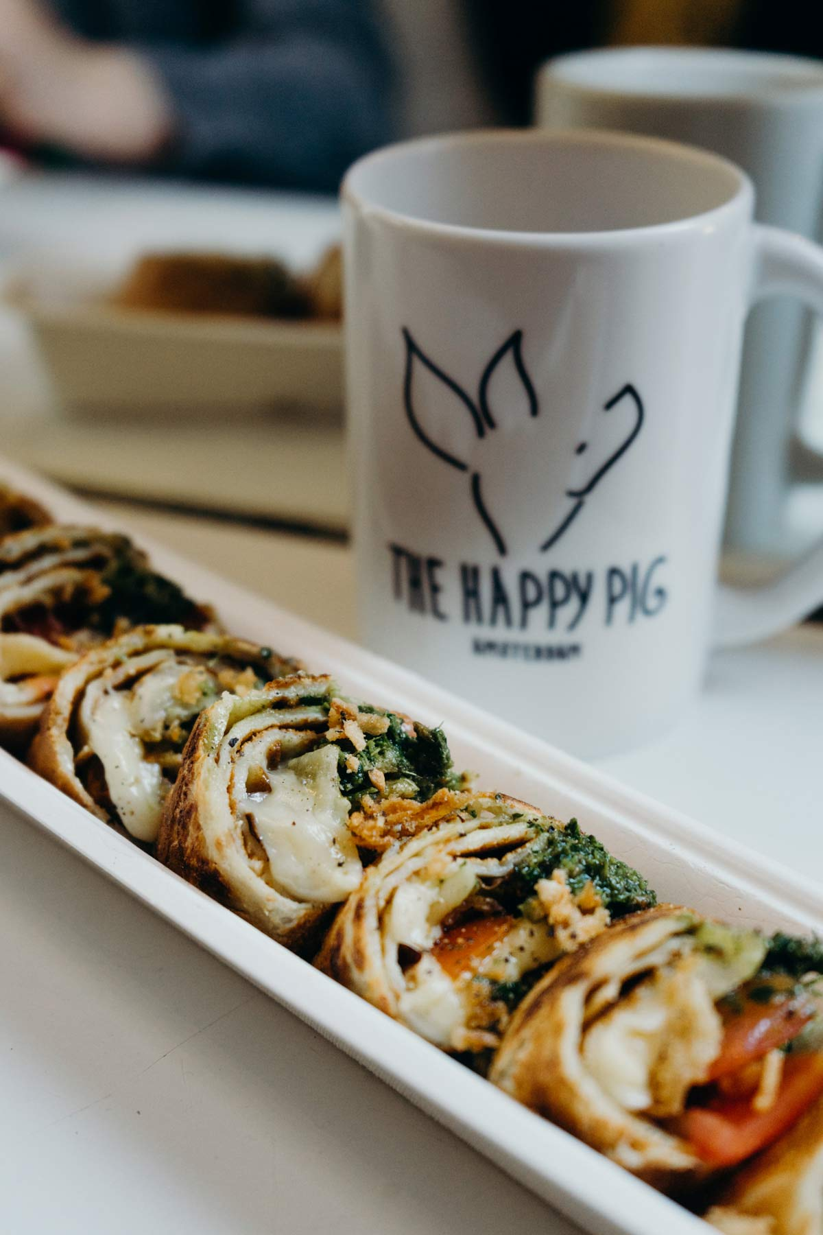 Happy Pig Pfannkuchen