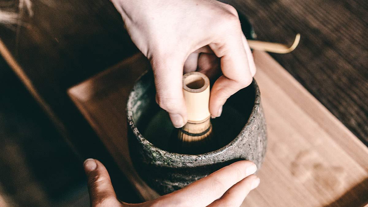 japanische Teezubereitung