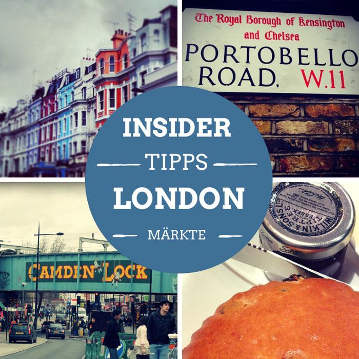Maerkte in London Reisetipps