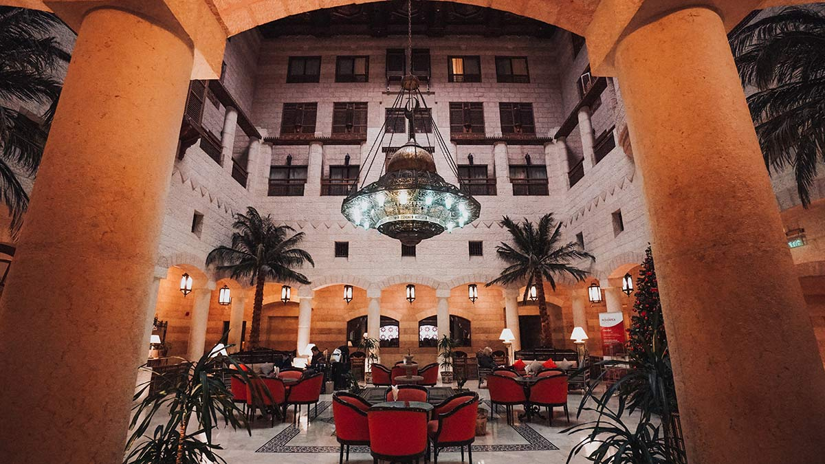 Moevenpick Hotel Petra Lobby