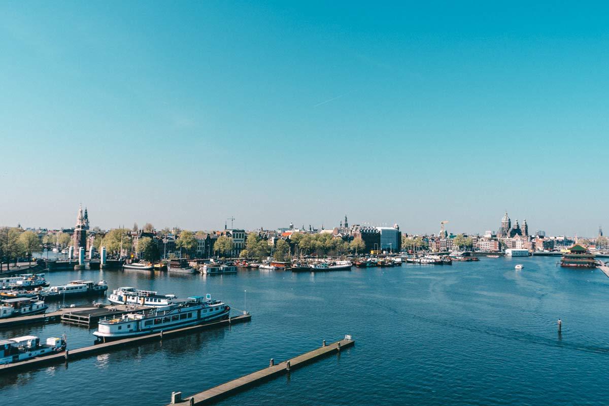 NEMO Aussicht Amsterdam