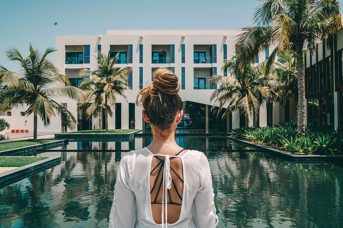 oman hotel am strand