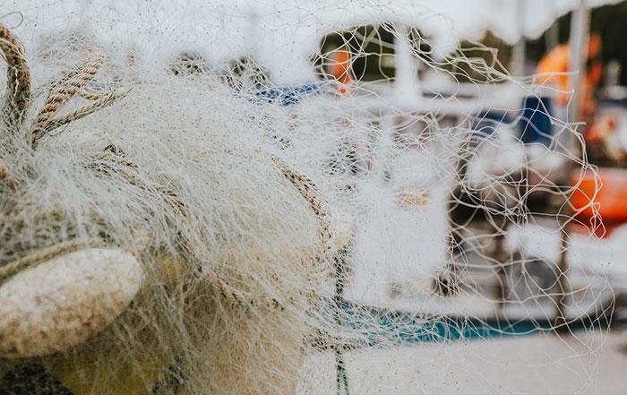 plastiknetz im meer