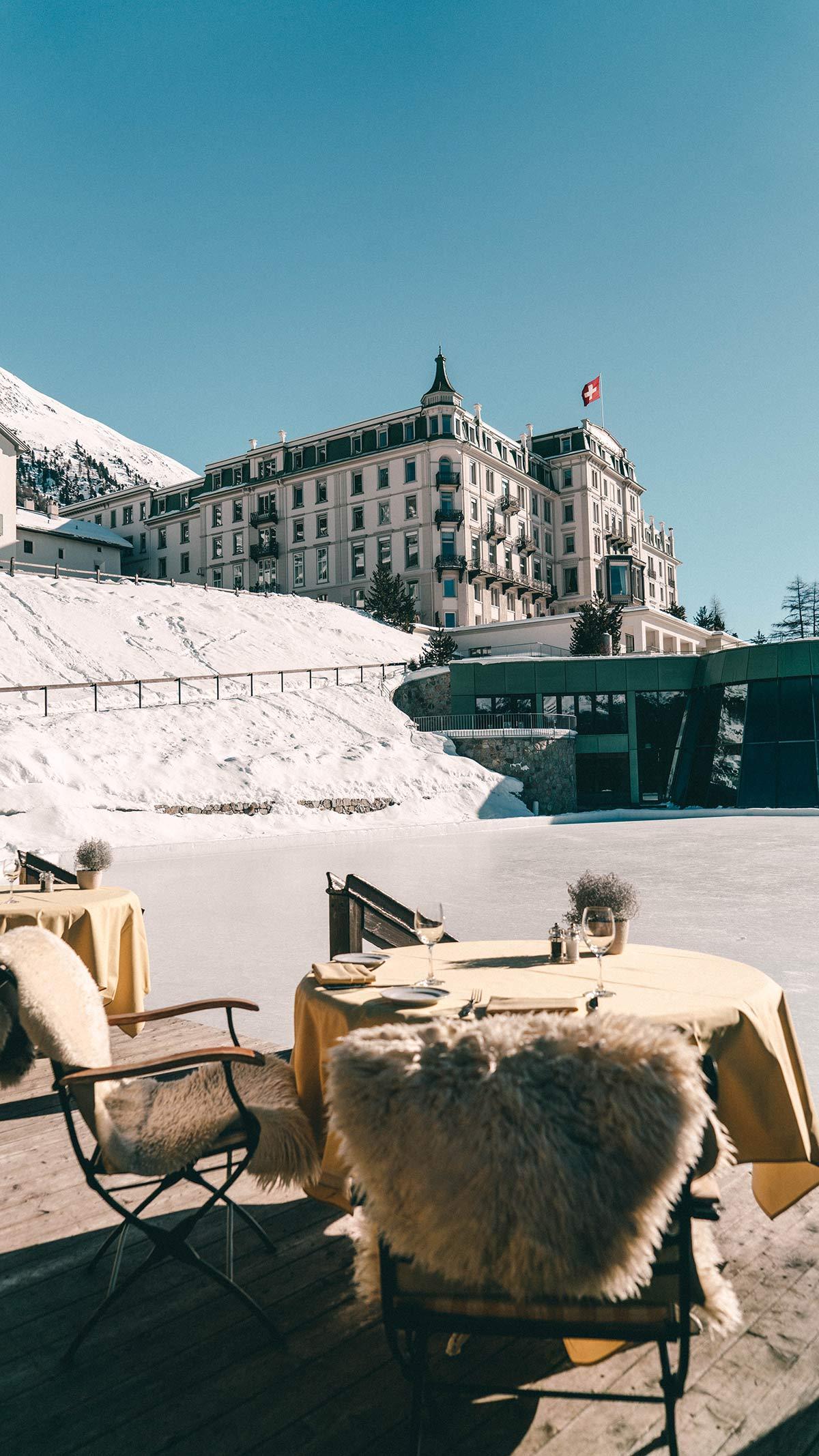 Schweiz Grand Hotel Kronenhof