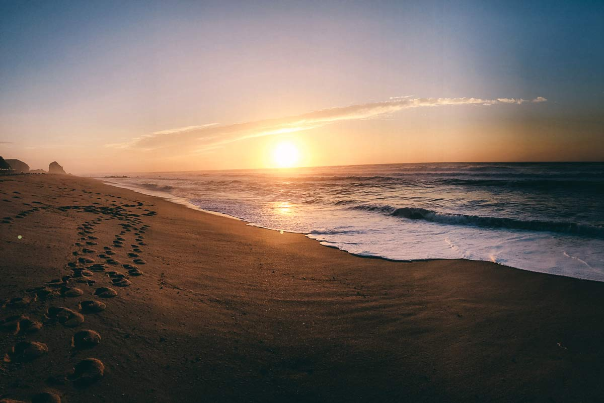 Sonnenuntergang Santa Cruz