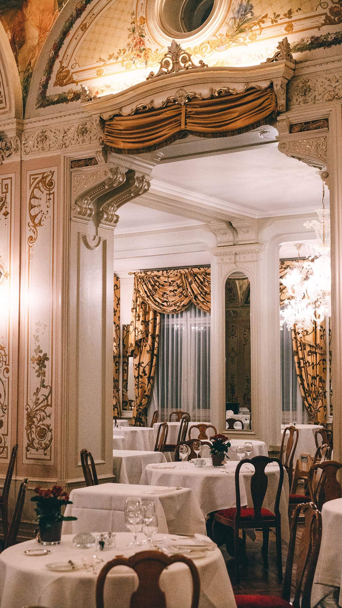 Speisesaal Grand Hotel Kronenhof