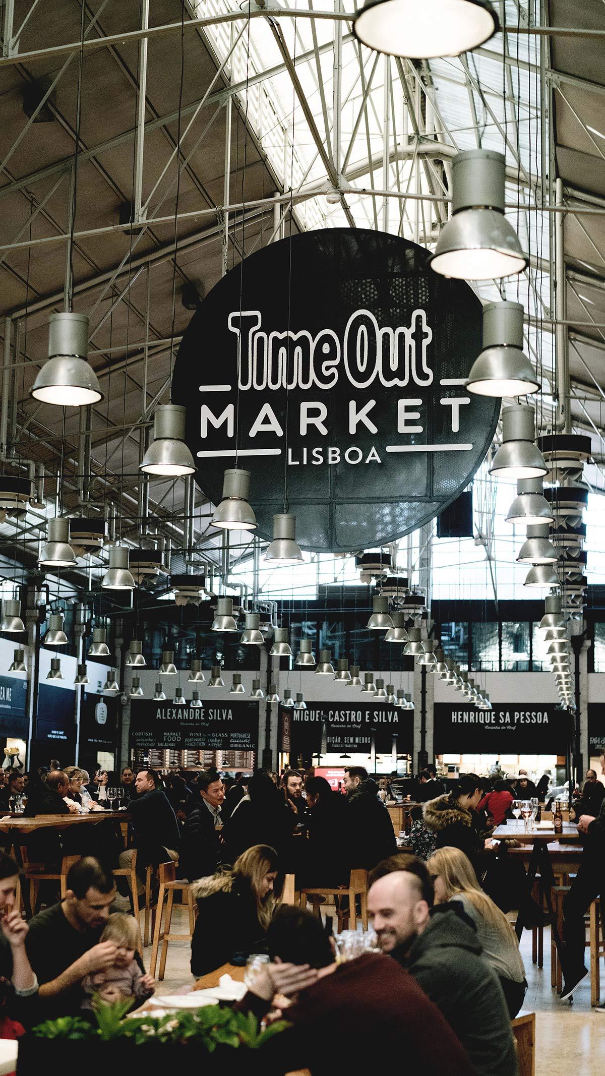 Timeout Market Lissabon Halle