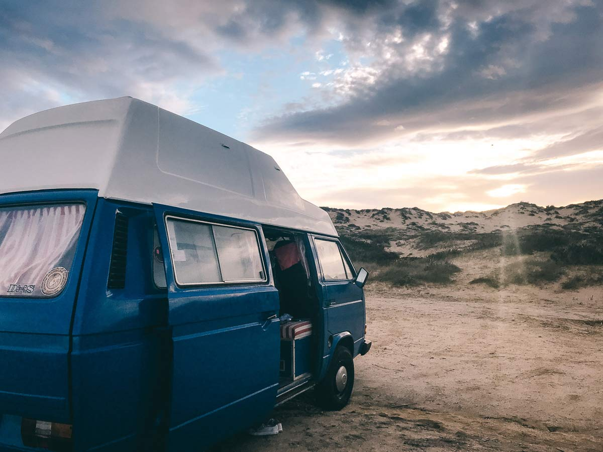 Van Surf Roadtrip Portugal