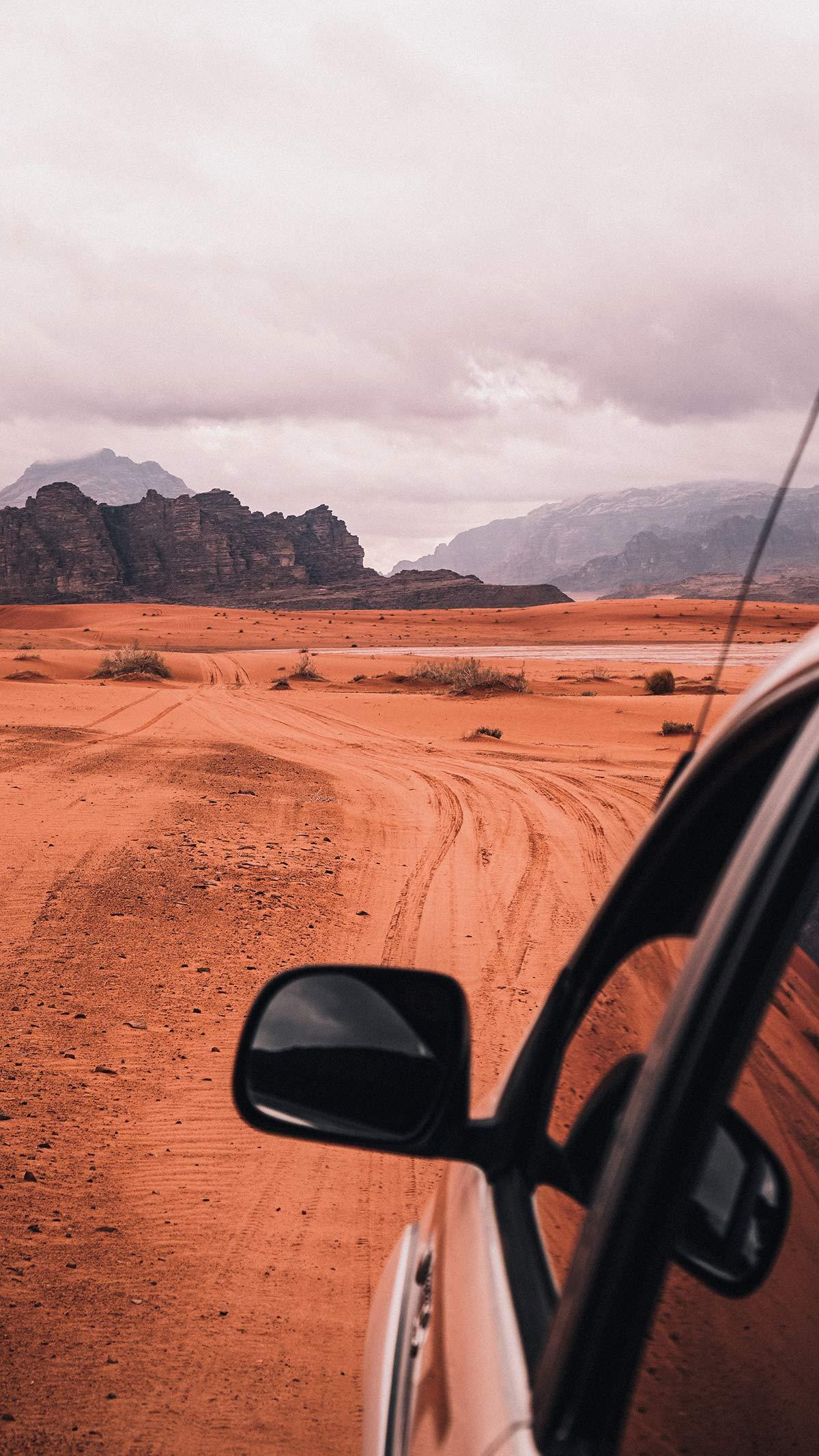 Wadi Rum Jeeptour Wueste