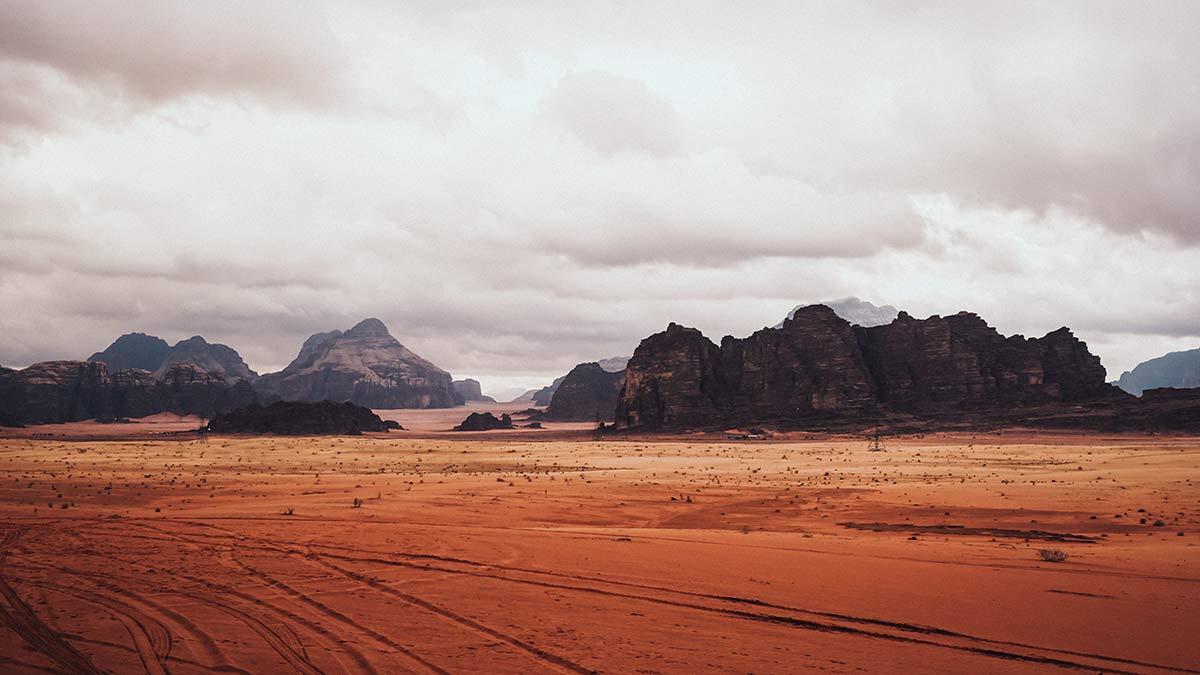 Wadi Rum Wueste Jeeptour