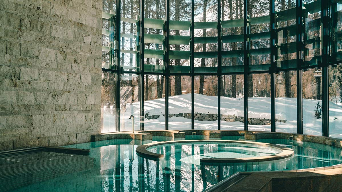 Wellnessbereich Grand Hotel Kronenhof