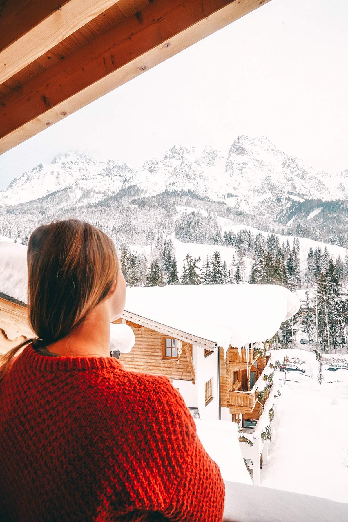 Aussicht Hotel Forsthofgut