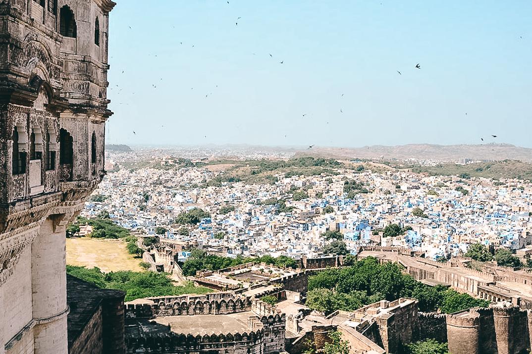 blick auf jodhpur vom Mehrangarh Fort
