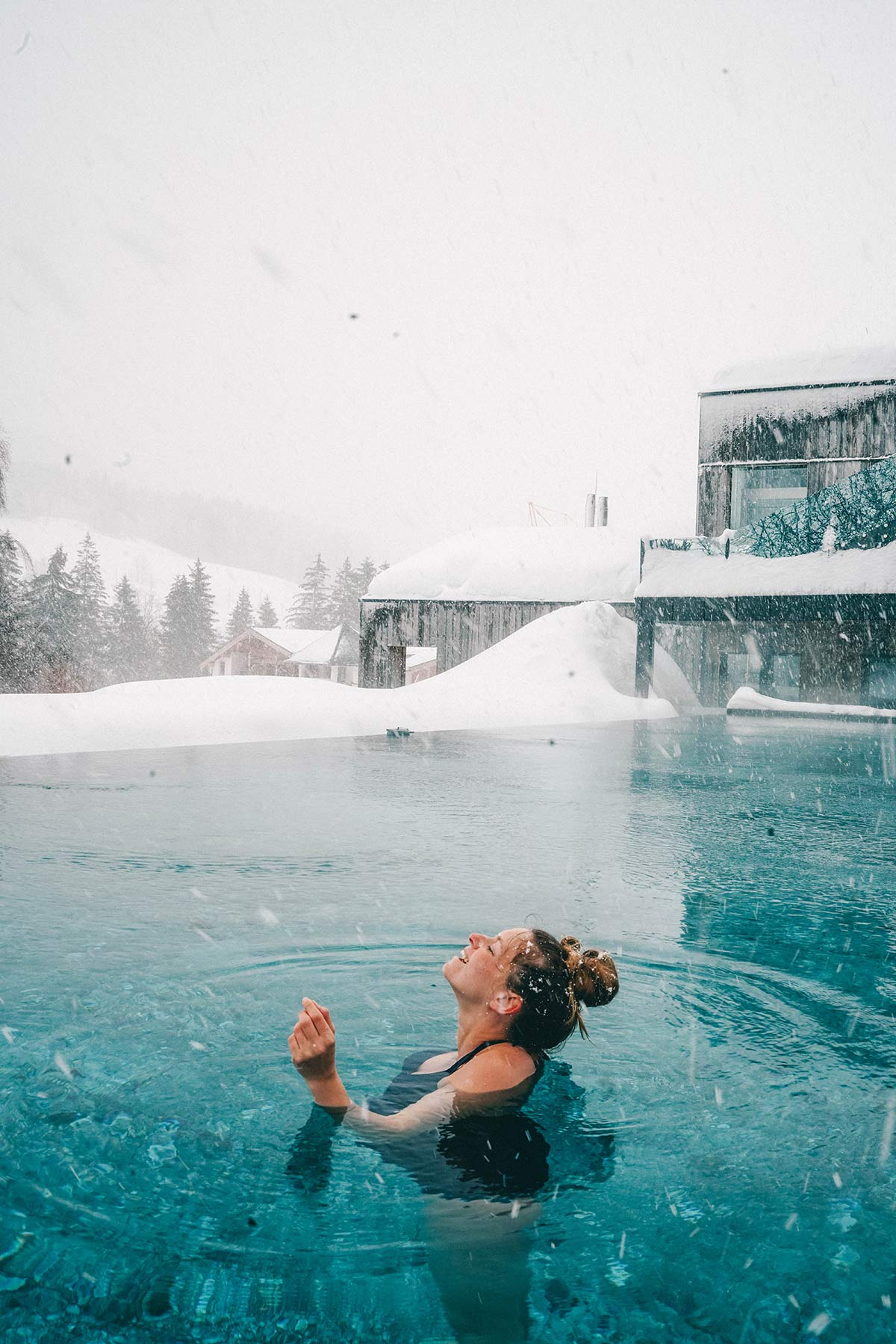 Christine Neder Pool Hotel Forsthofgut