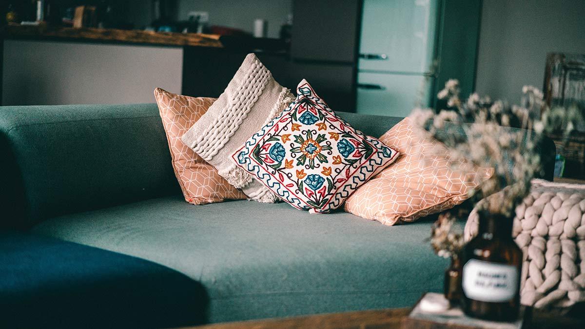 Einrichtungstipps Kissen aus Indien
