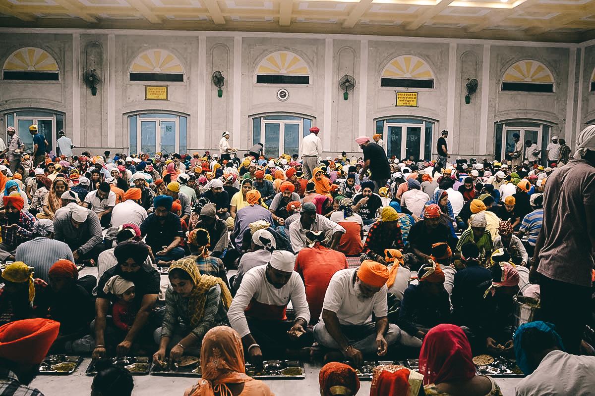 sikh tempel Gurudwara Bangla Sahib