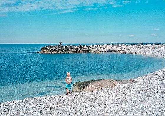 sardinien mit kindern strand