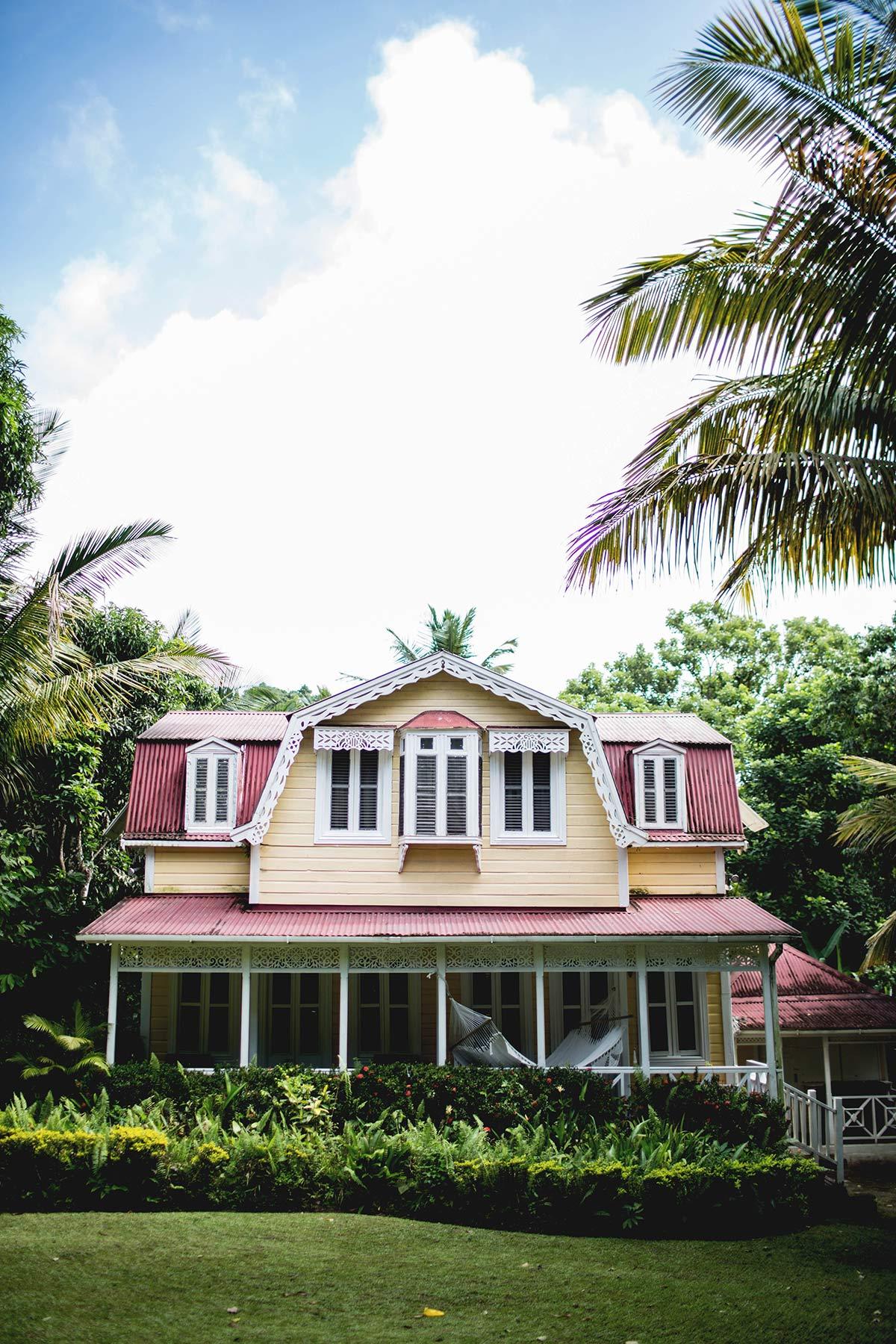 Haus Kakaoplantage St Lucia Sehenswürdigkeiten