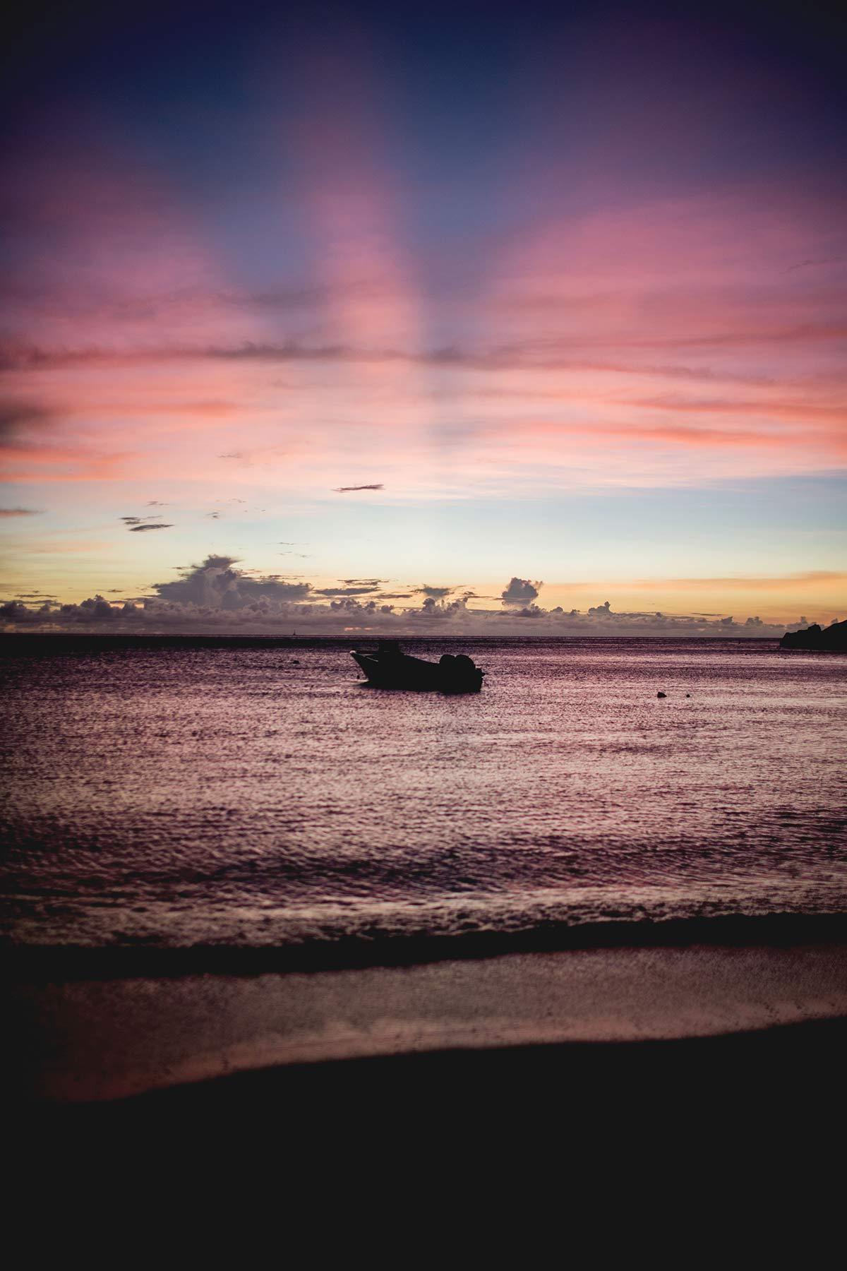 Nachttauchen St Lucia