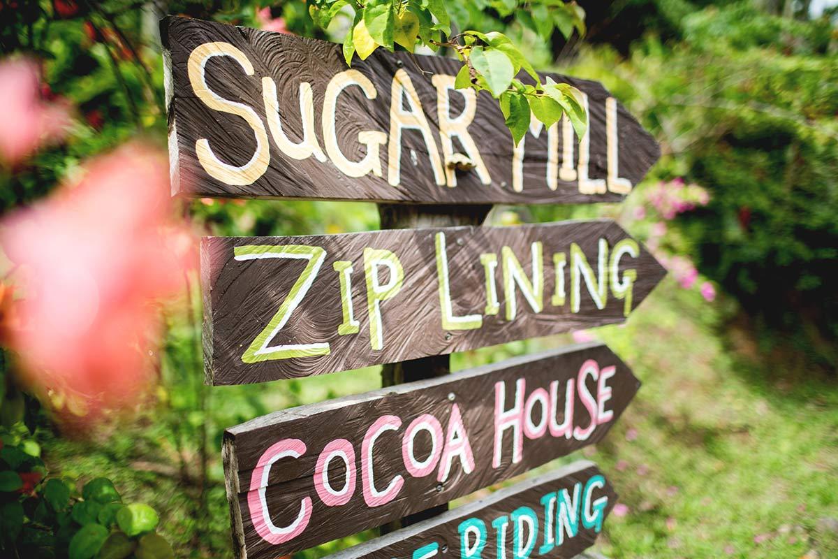 Zipline St Lucia Sehenswürdigkeiten