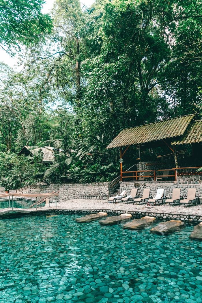 ecotermales hot spring becken
