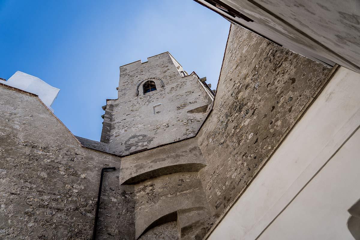 Laa an der Thaya_Butterturm der Burg Laa