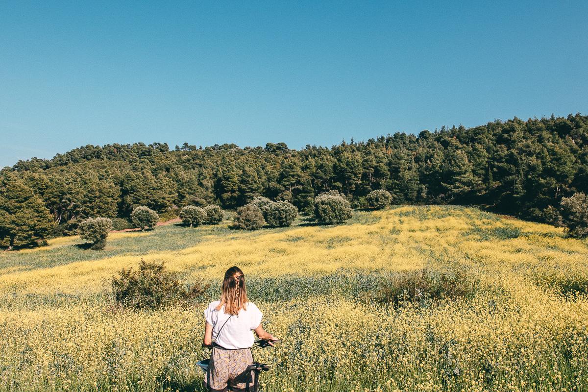 Urlaub Chalkidiki Radtour