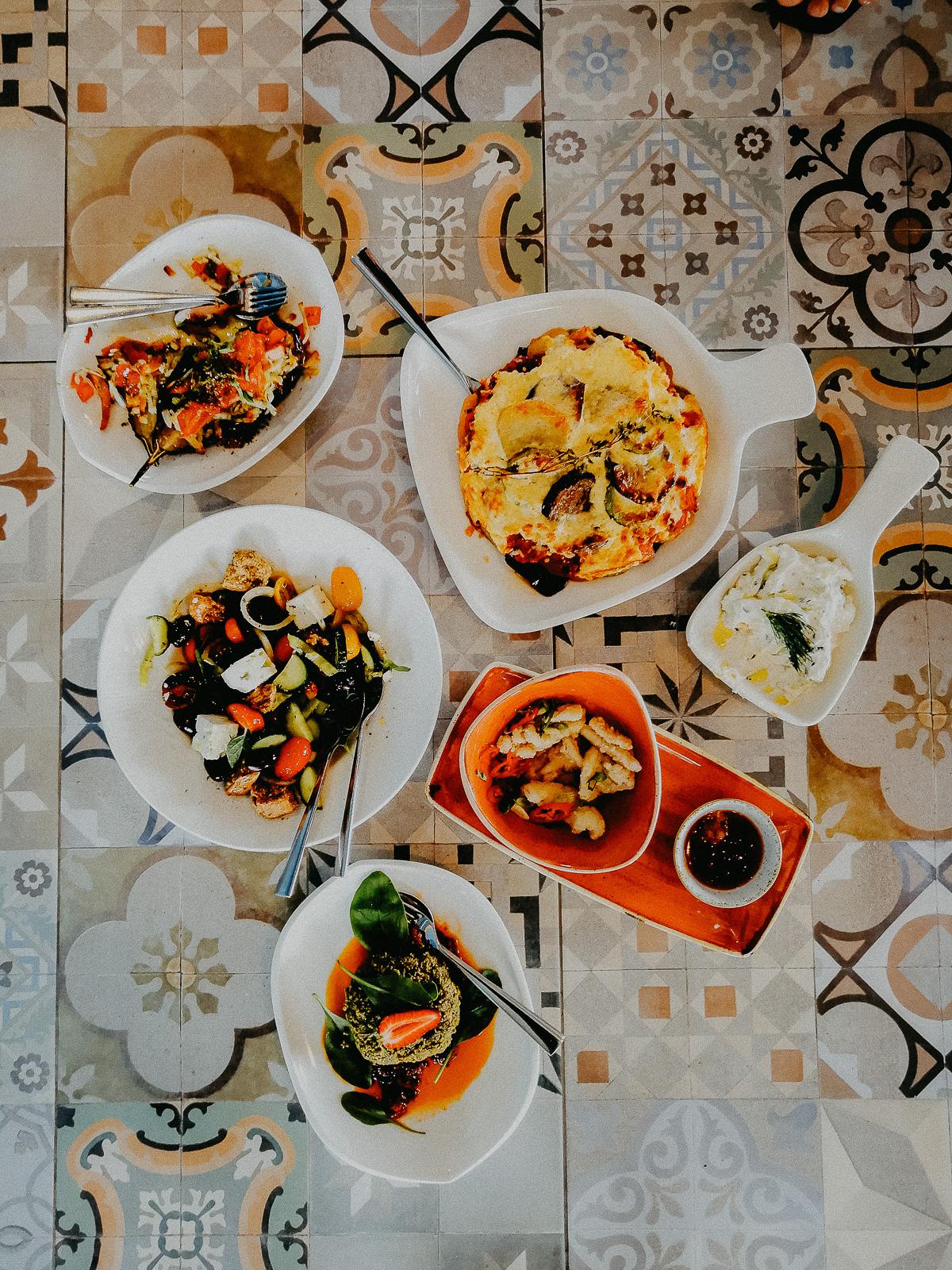 Chalkidiki Griechenland Essen